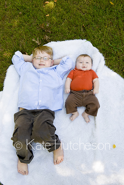 two brothers - Nashville child photography