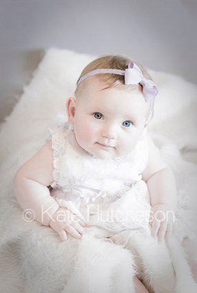light pastel baby picture