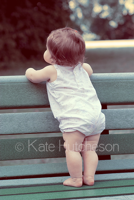 baby outdoors- Nashville baby photographer