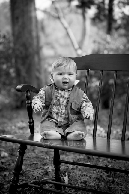 baby portrait outdoors