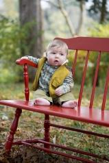 baby portrait outside Nashville