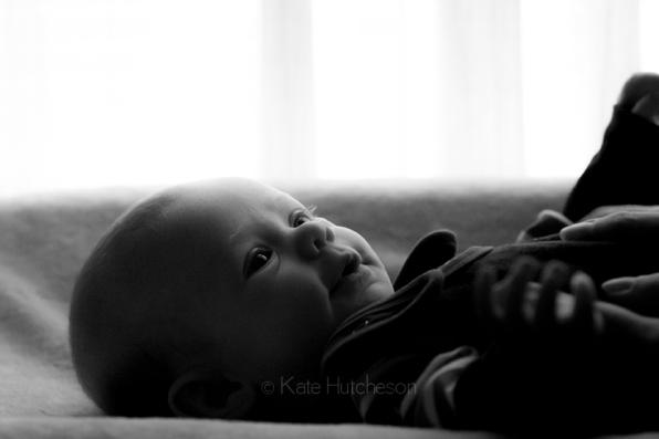 3 month baby portrait